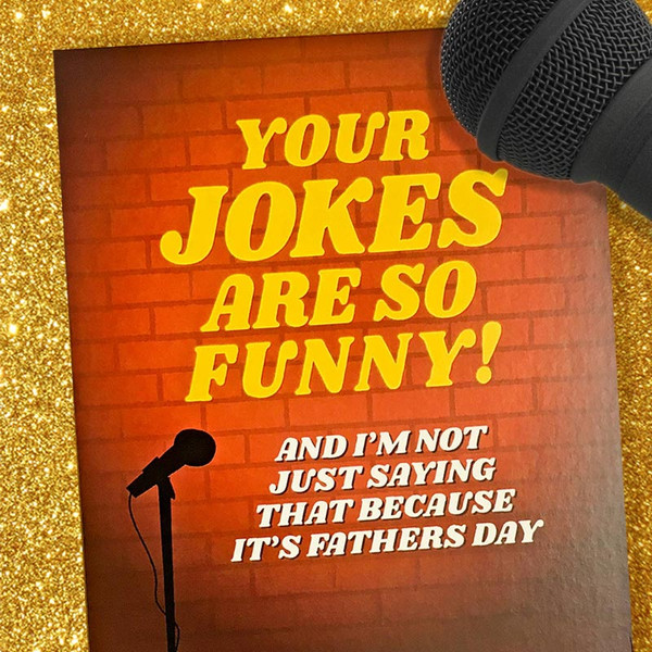 Funny Dad Jokes Father's Day Card