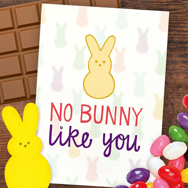 No Bunny Like You Happy Easter Card