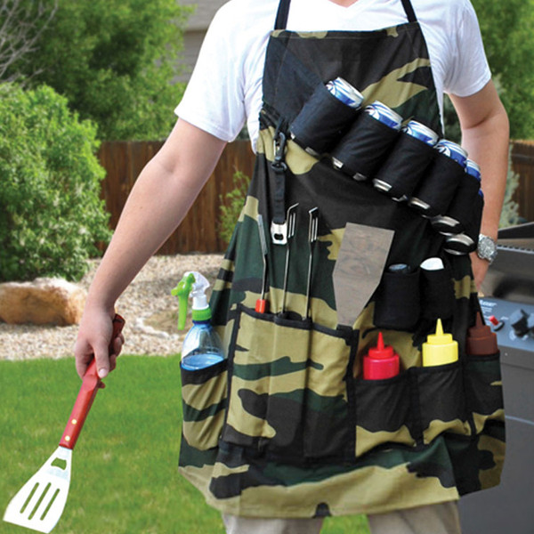 Big Mouth Grill Sergeant BBQ Apron