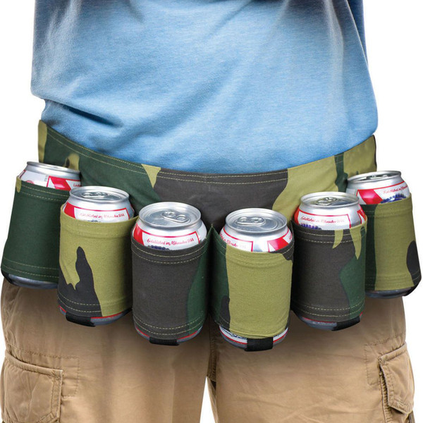 Big Mouth The Camo Beer Belt