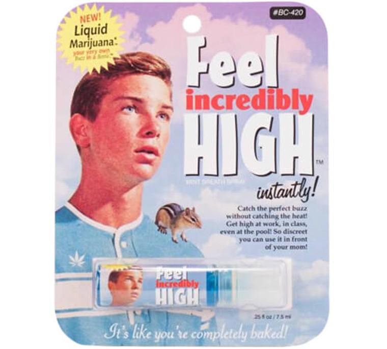 FEEL INCREDIBLY HIGH - BREATH SPRAY