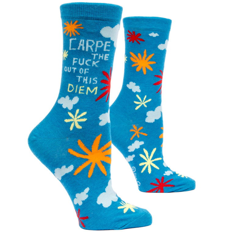 CARPE THE FUCK OUT OF THIS DIEM SOCKS