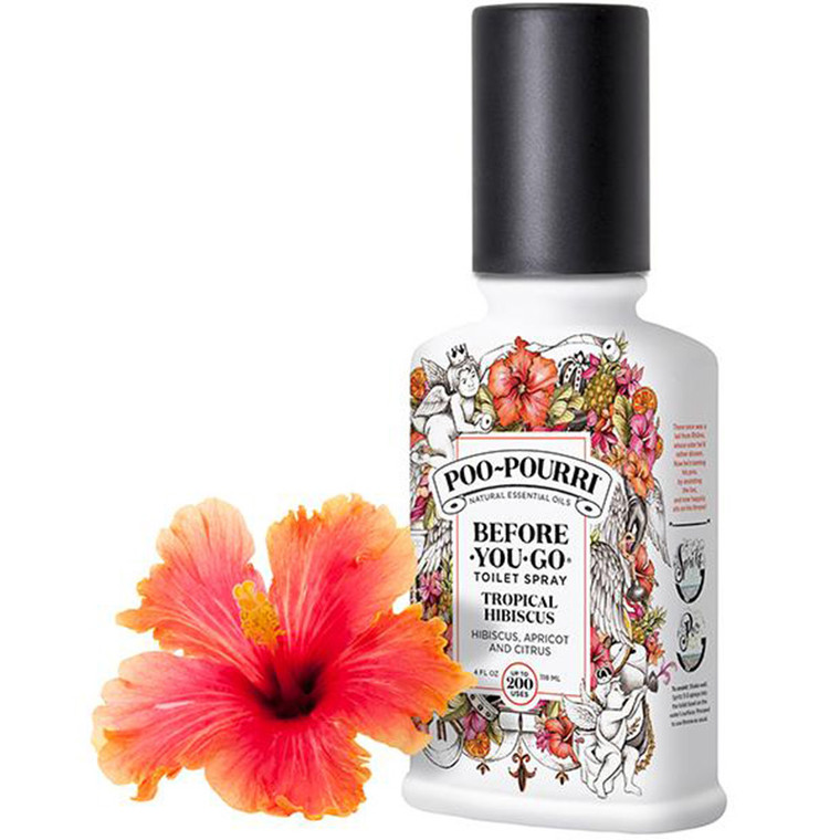 Before You Go Tropical Hibiscus Poo-Pourri