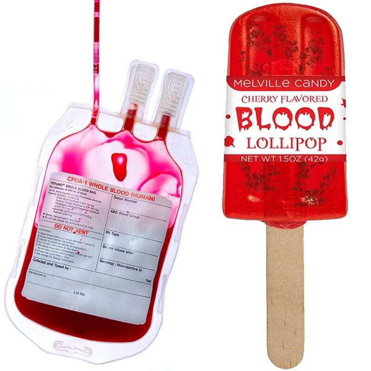 Blood Sucker Cherry Flavored Lollipop