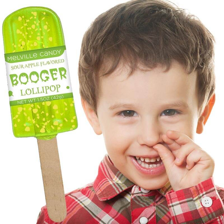 Booger Lollipop