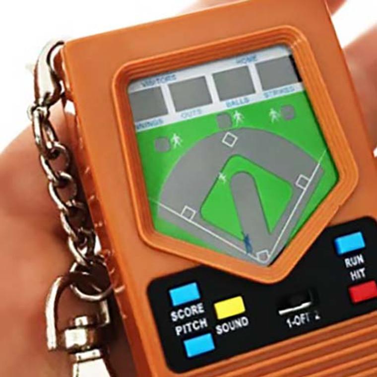 Mattel Electronics Baseball Handheld Game Keychain