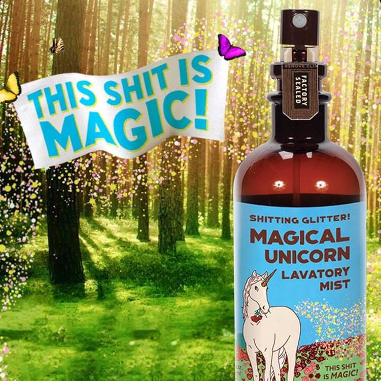 Shitting Glitter Magical Unicorn Lavatory Mist