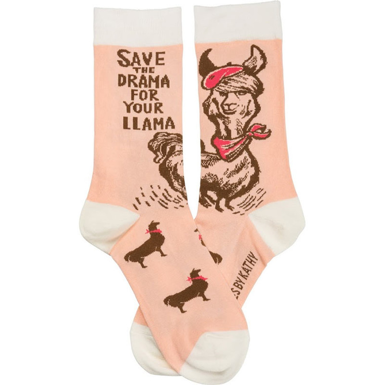 Save The Drama For Your Llama Socks