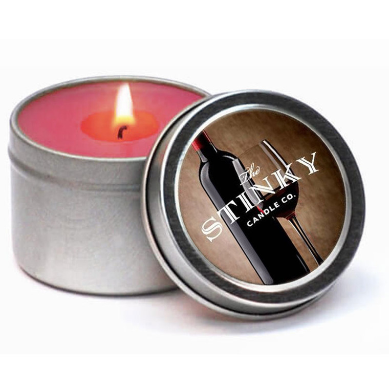 Wine Scented Candle