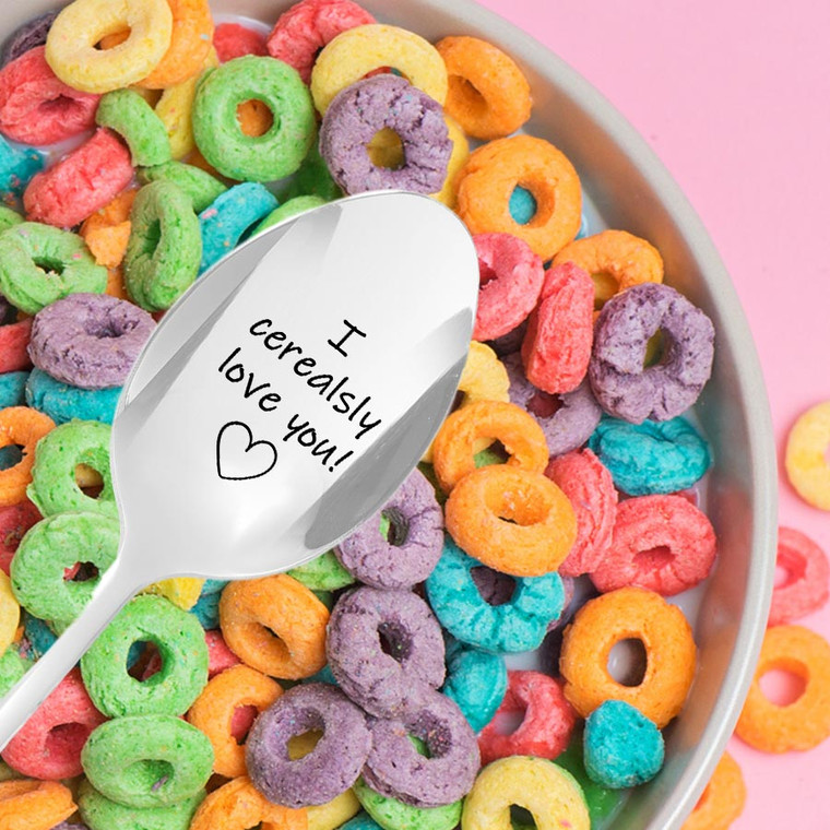 I Cerealsly Love You Spoon