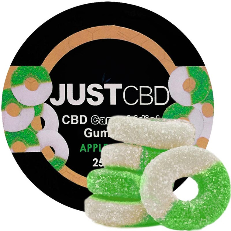 250mg CBD Gummy Apple Rings