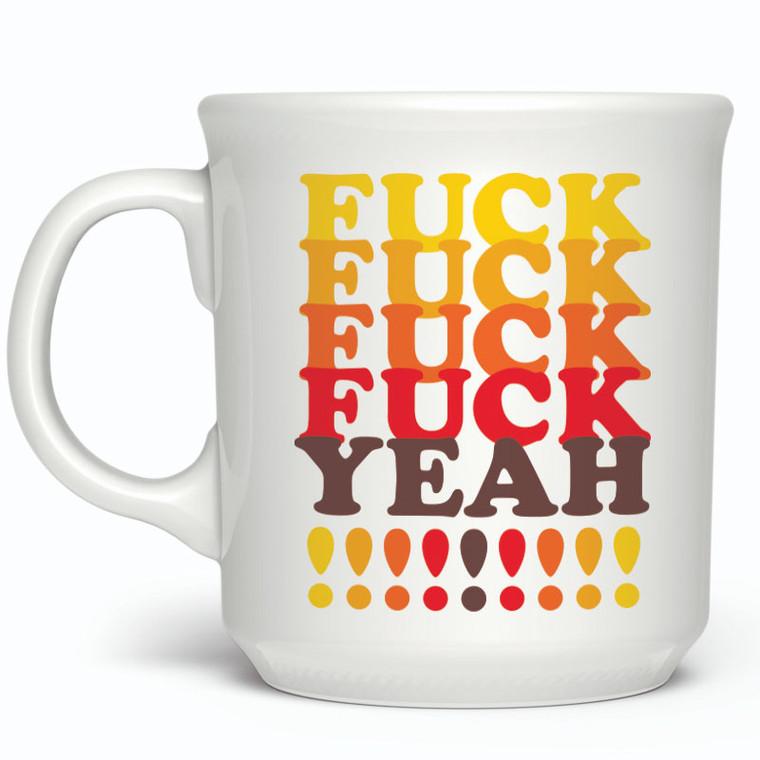 Fred Fuck Yeah Mug Office Gift