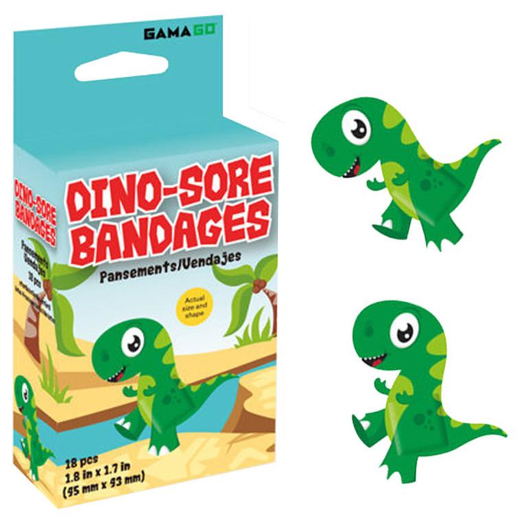 Dino-sore Dinosaur Bandages