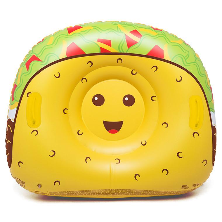 The Tasty Taco Snow Tube