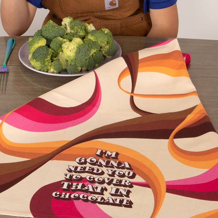 Love Chocolate? This is the perfect kitchen towel!