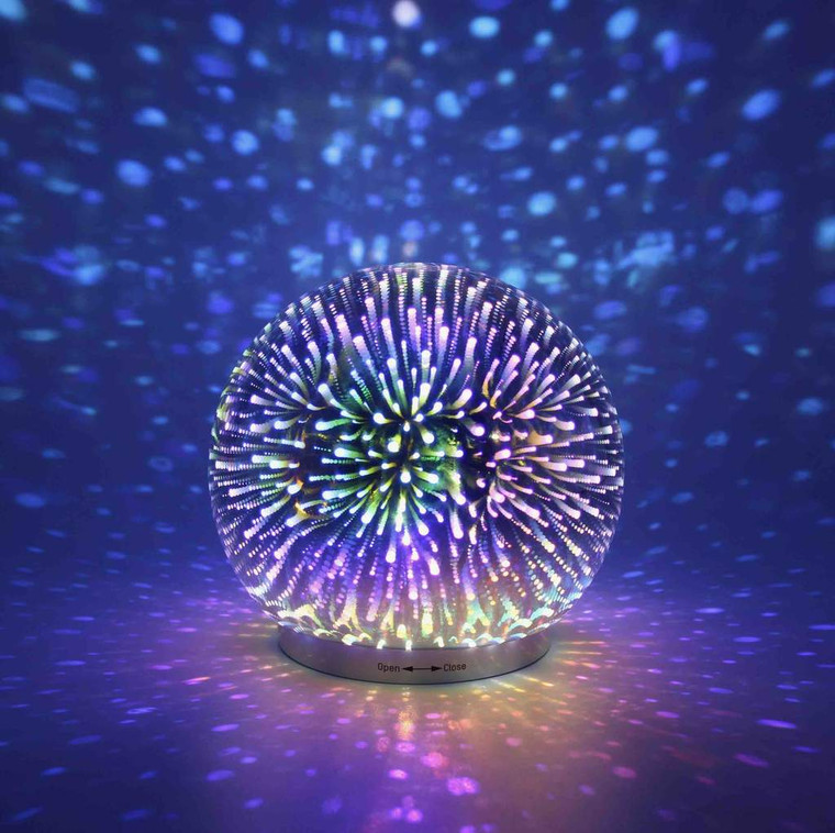 Infinity Mirror Ball Lamp