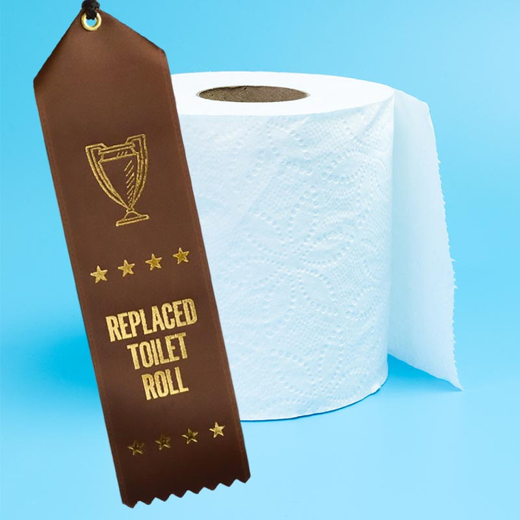 Replaced Toilet Roll Ribbon