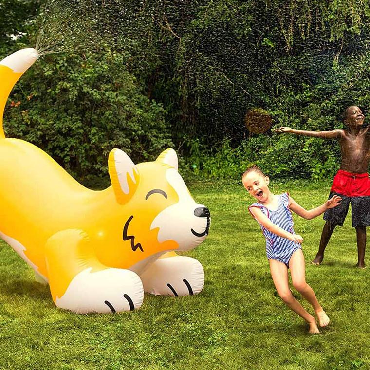Summer Toy - Ginormous Corgi Yard Water Sprinkler