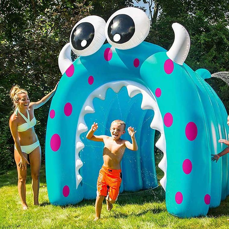 Giant Dual Soak Monster Run Through Sprinkler - Purchase