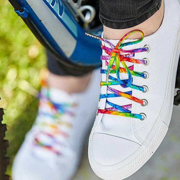 Tie Dye Shoelaces - Buy Online