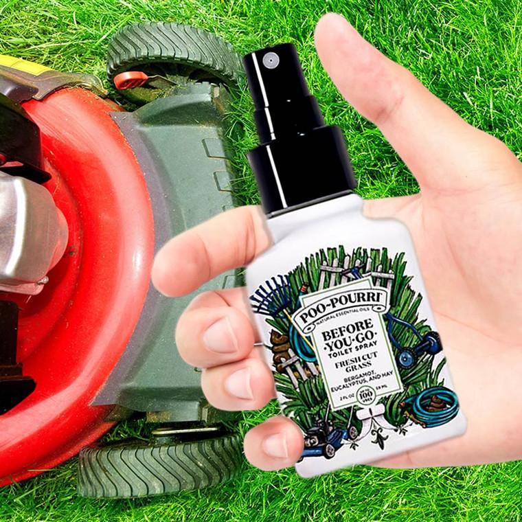 Spray to stop poop smell! Fresh Cut Grass Poo-Pourri