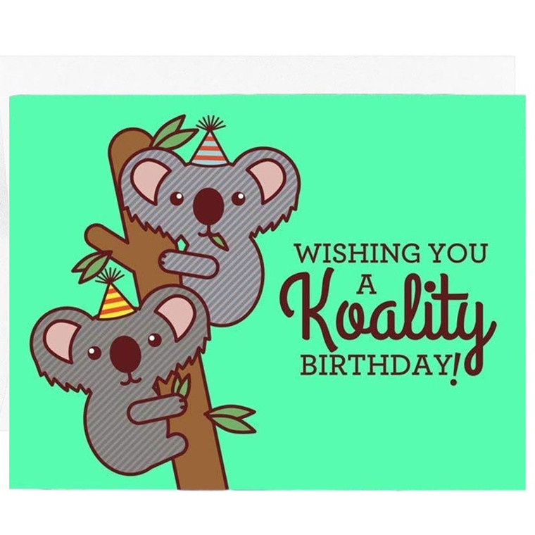 Koality Birthday Koala Card