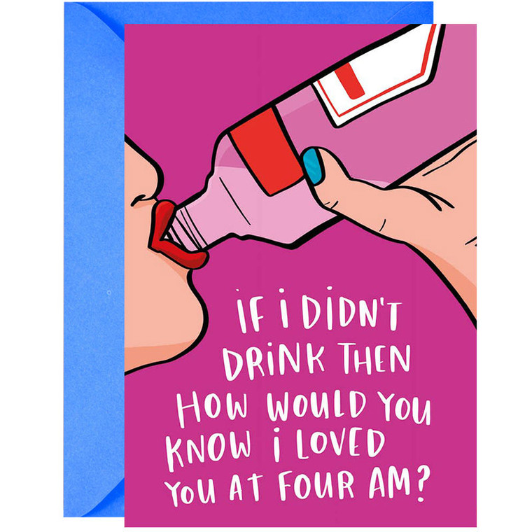 Drunk Dialing Greeting Card
