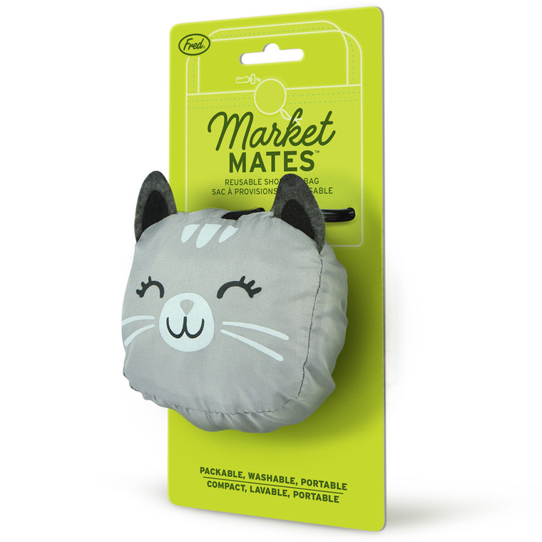 Cat Market Mates Bag by Fred and Friends