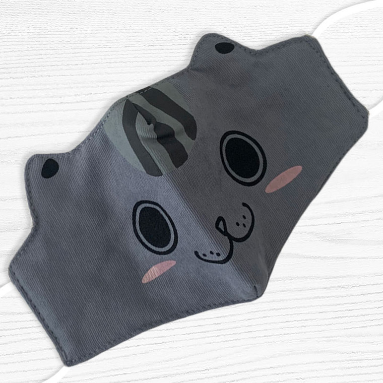 Face Mask For Kids - Raccoon Style