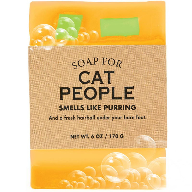 Soap For Cat People Smell Like Purring