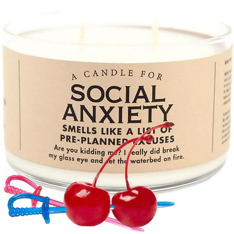 Social Anxiety Candle by Whiskey River