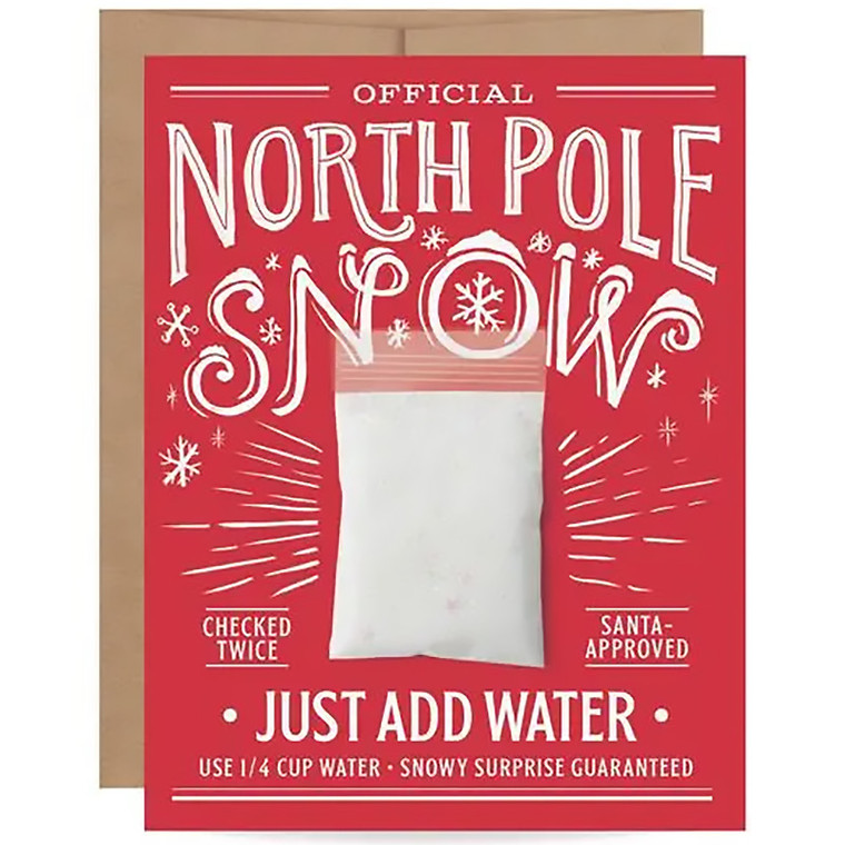 North Pole Mail An Instant Snowball Christmas Card