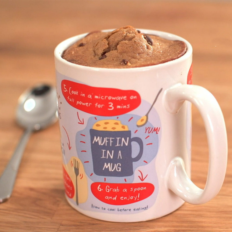 Muffin In A Mug by Ginger Fox