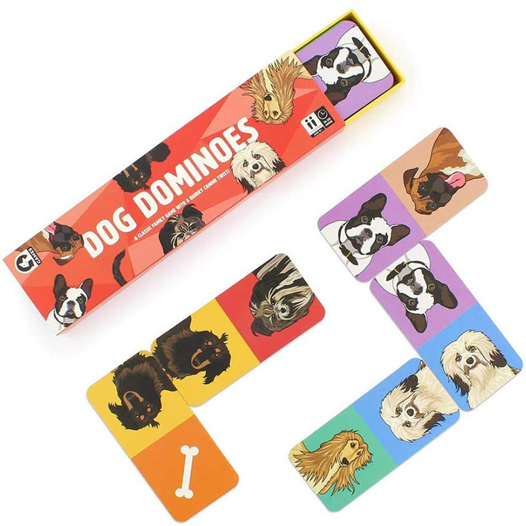 Dog Dominoes by Ginger Fox Toys