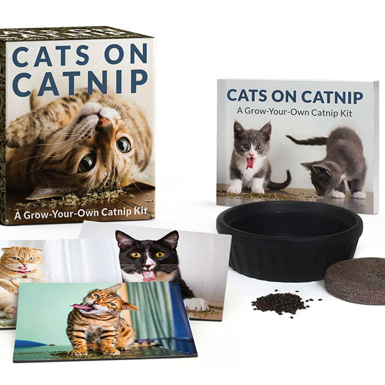 Cats on Catnip Grow-Your-Own Catnip Kit