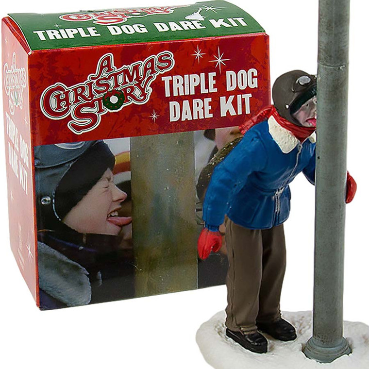 A Christmas Story Triple Dog Dare Statue