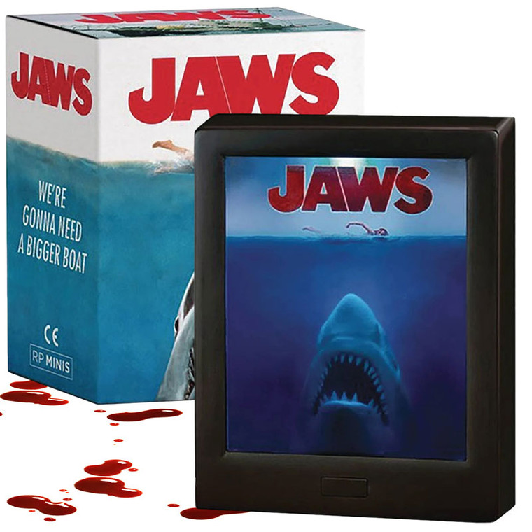 Jaws Mini Light Up Poster With Music