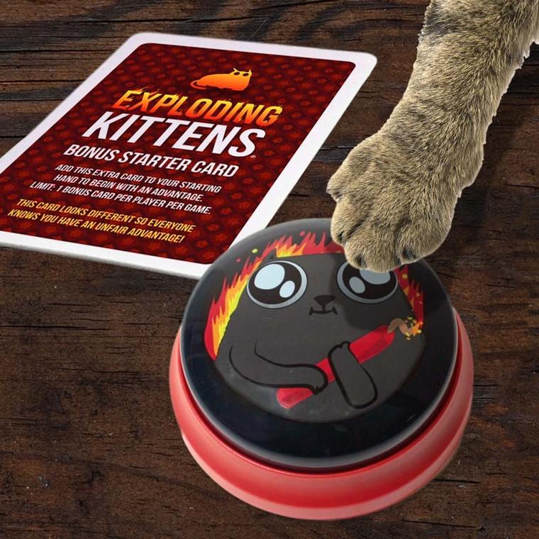 Mini Exploding Kittens Talking Button