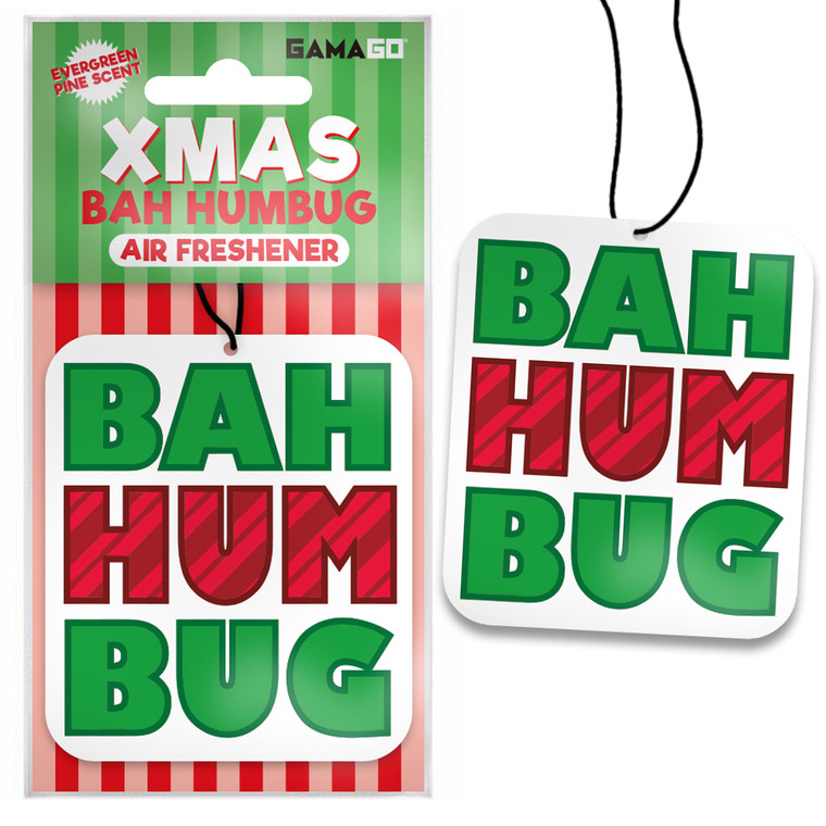 Bah Humbug Car Air Freshener