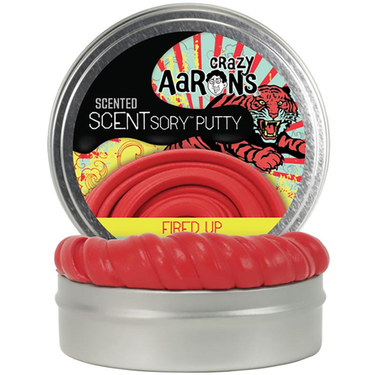 SCENTsory Fired Up Vibes Cinnamon + Ginger Putty