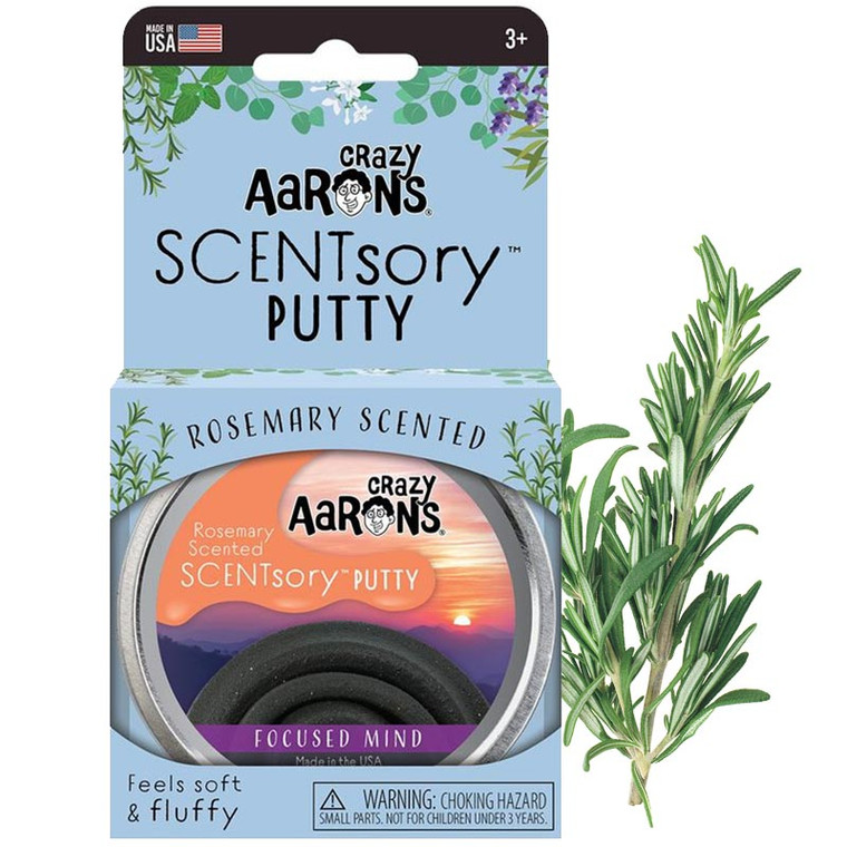 Focused Mind Scentsory Aromatherapy Collection Putty