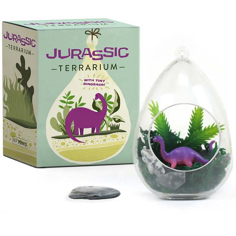 Mini Jurassic Dinosaur Terrarium