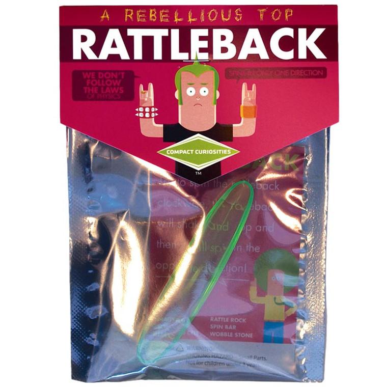 Rattleback Spinner