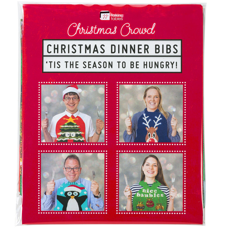 Christmas Sweater Dinner Bibs
