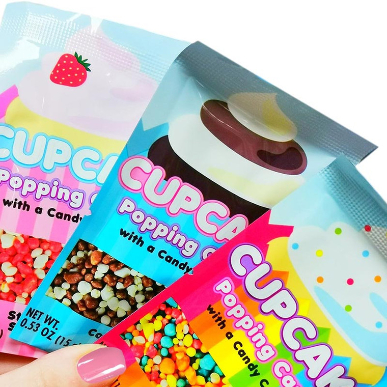Cupcake Popping Candy