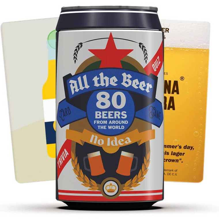All The Beer, No Idea Trivia Card Game