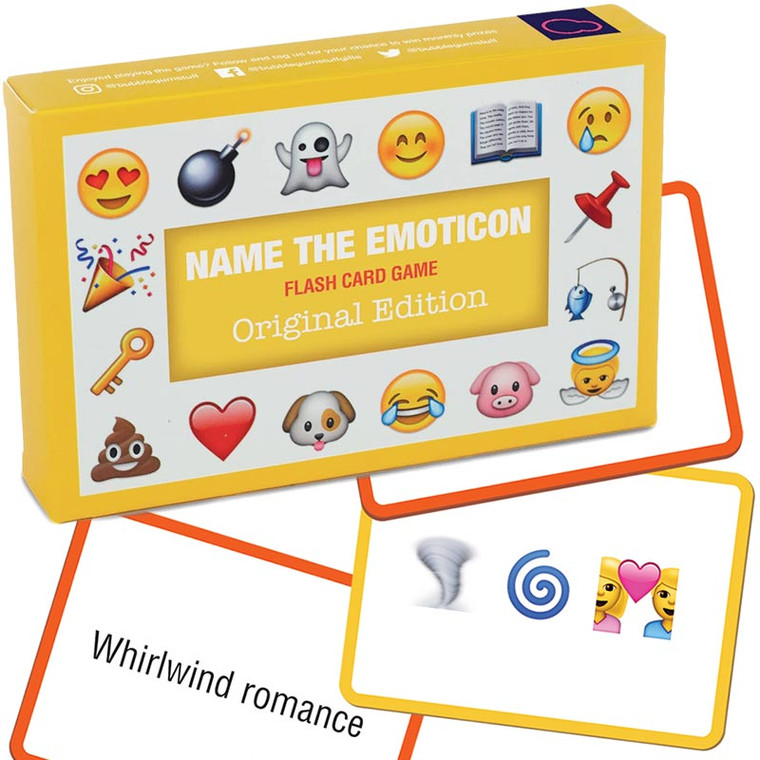 Name The Emoticon Game: Toys & Games
