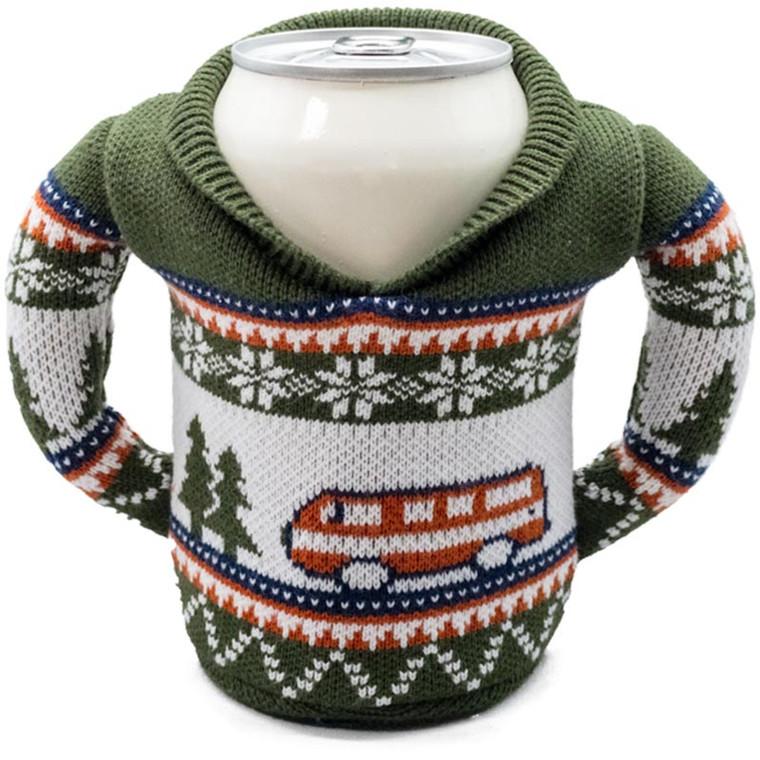Puffin RV Camper Sweater Koozie