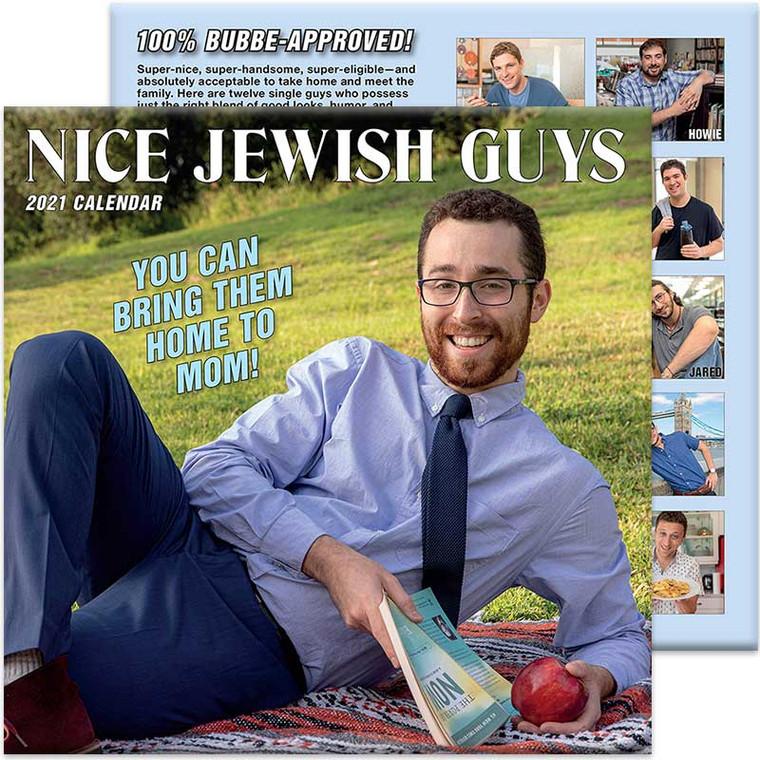 Nice Jewish Guys 2021 Wall Calendar