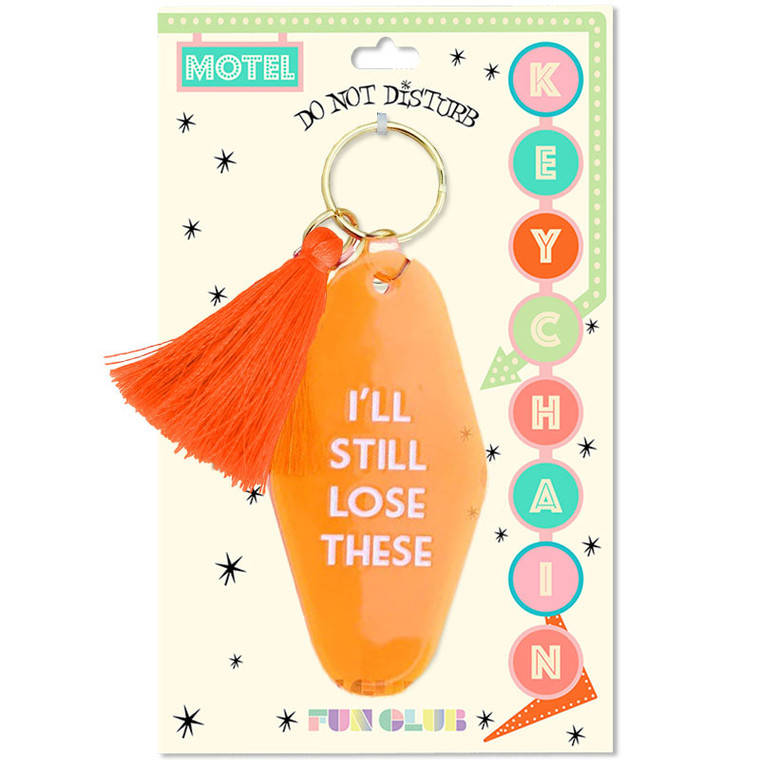 I'll Still Lose These Keychain